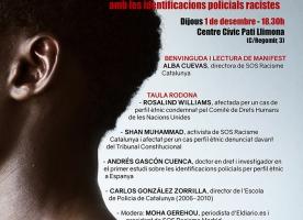 Acte contra les identificacions policials racistes, 1 de desembre
