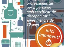 Nou curs de neteja de superfícies i mobiliari en edificis i locals, amb Femarec