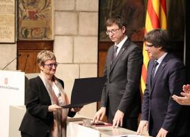 La Fundació Surt rep un dels premis del dia de la Justícia a Catalunya