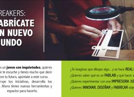 Nova edició del programa 'Breakers: fabrícate un nuevo mundo' de FEPA