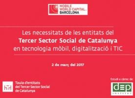 Informe sobre necessitats tecnològiques: la Taula del Tercer Sector demana més implicació de la indústria mòbil en la inclusió social