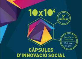 '10×10′ Càpsules d'innovació social', jornada el 17 de març al voltant de l'ocupació juvenil