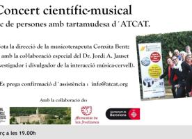 Concert presentació del projecte 'Parlem cantant. Música, ciència i tartamudesa', 25 de març