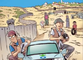 Presentació 'Vidas ocupadas. Un viaje palestino de Nablus a Gaza', còmic d'Acció contra la fam