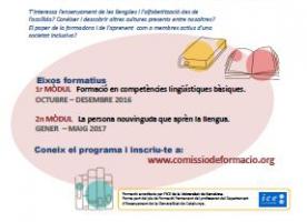 Mòdul 2 de  'Formació per la ciutadania', a partir del 19 de gener