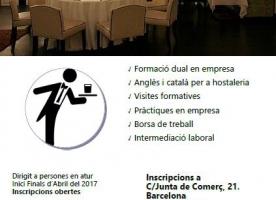 Curs d'ajudant de cambrer del Casal dels Infants, finals d'abril