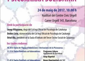 Jornada Anual de la Psicoxarxa Solidària, 24 de maig