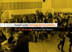 Suma't a les #EnergiesComunitaries, del 18 al 20 de maig