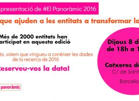 Presentació de #ElPanoràmic 2016, 8 de juny