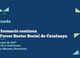 Jornada 'La formació contínua al Tercer Sector Social de Catalunya', 9 de juny