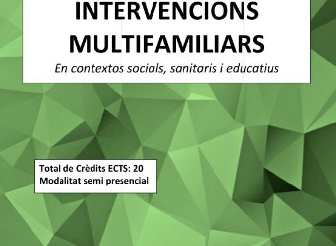 Curs de Postgrau d'Expert en Intervencions Multifamiliars, ABD