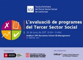 L'avaluació de programes del Tercer Sector Social, 26 de juny