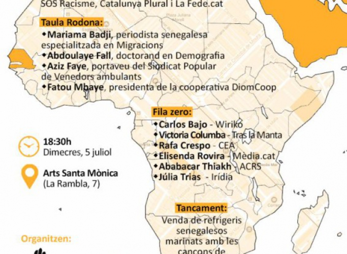 La venda ambulant vista des del Sud, reportatges de SOS Racisme i Catalunya Plural – eldiario.es 5 de juliol