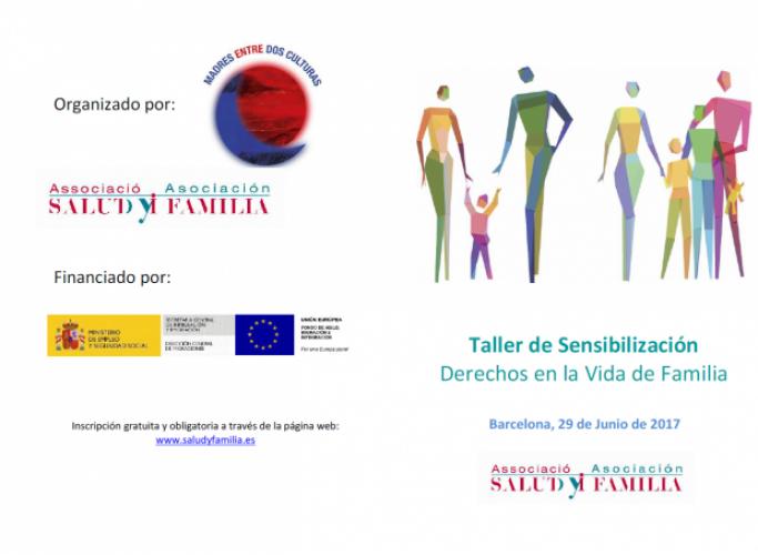 Drets en la vida de Família, taller de sensibilització el 29 de juny