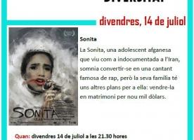 'Sonita', cinema a la fresca contra la discriminació el 14 de juliol