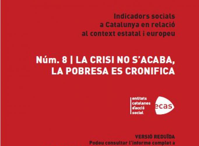 Presentació de l'INSOCAT 8: La crisi no s'acaba, la pobresa es cronifica, 26 de juliol