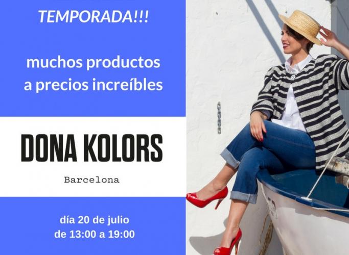 Mercat de Dona Kolors, avui 20 de juliol