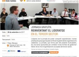 Jornada 'Reinventant el lideratge en el tercer sector', 28 de setembre