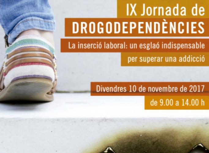 IX Jornada de Drogodependències, 10 de novembre