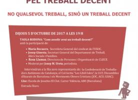 Dia Mundial pel Treball Decent, 7 d'octubre