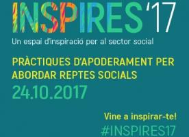 Jornada INSPIRES '17: un espai d'inspiració per al sector social, 24 d'octubre