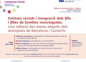 [CANCEL·LAT] Debat Catalunya Social sobre la integració de la immigració, 30 d'octubre
