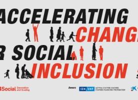 Presentació d'innovacions socials a Barcelona, 21 i 22 de novembre