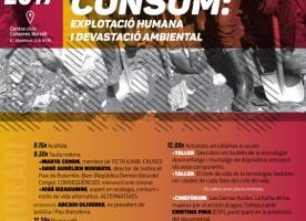 'El preu del nostre consum: explotació humana i devastació ambiental', 11 de novembre