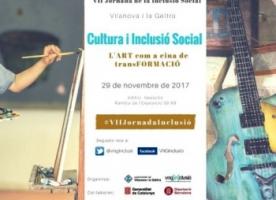 'Cultura i Inclusió Social. L'Art com a eina de transFORMACIÓ', 29 de novembre