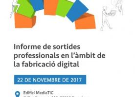 FEPA coorganitza una jornada sobre sortides professionals al sector de la fabricació digital, 22 de novembre