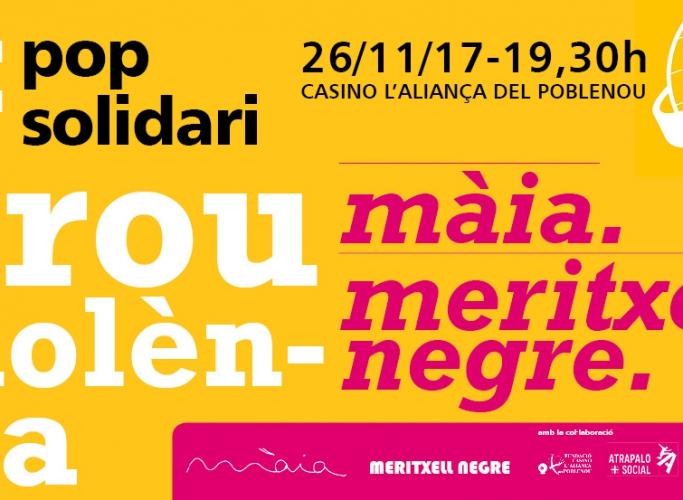 """Concert benèfic #ProuViolència en favor de l'Associació """"in via"""", 26 de novembre"""