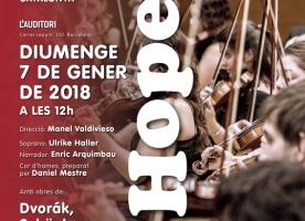 Concert solidari de la JONC en favor de Projecte Home, 7 de gener