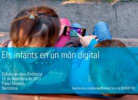 Jornada sobre infància i TIC, 12 de desembre