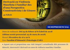 Formació en 'Detecció, intervenció i derivació en violència masclista i familiar des d'una perspectiva constructivista i de gènere'