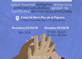 Formació en salut mental i emocional als espais associatius, 2 i 3 de març
