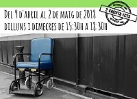 Taller sobre discapacitat, del 9 d'abril al 2 de maig