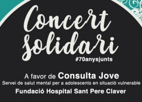 Concert solidari #70anysjunts en favor de Sant Pere Claver, 8 de maig