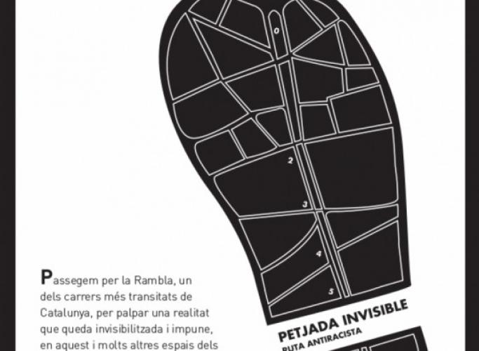 Petjada invisible, una ruta per la Rambla amb perspectiva antiracista, 21 de març
