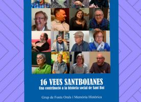 Presentació del llibre 'Setze Veus Santboianes', 16 d'abril