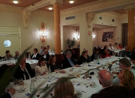 229 Sopar Hora Europea 'Reptes davant la desigualtat d'oportunitats', 19 d'abril