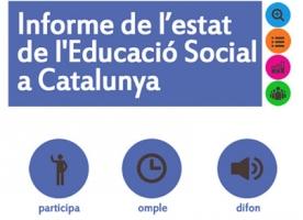 Crida a la participació per elaborar l'informe de l'estat de l'Educació Social a Catalunya