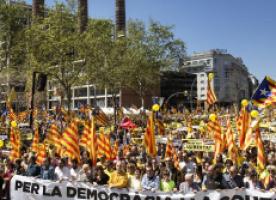 Presentació de la campanya 'Sindicalistes europeus per la llibertat dels presos polítics', 24 de maig