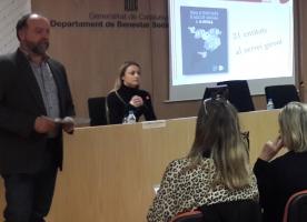 'Guia d'entitats d'acció social a Girona', presentació amb representants d'ECAS, la Taula del Tercer Sector i l'Administració
