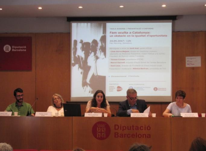 INFORME   La 'fam oculta' posa en risc la igualtat d'oportunitats a Catalunya especialment  per als infants de famílies empobrides