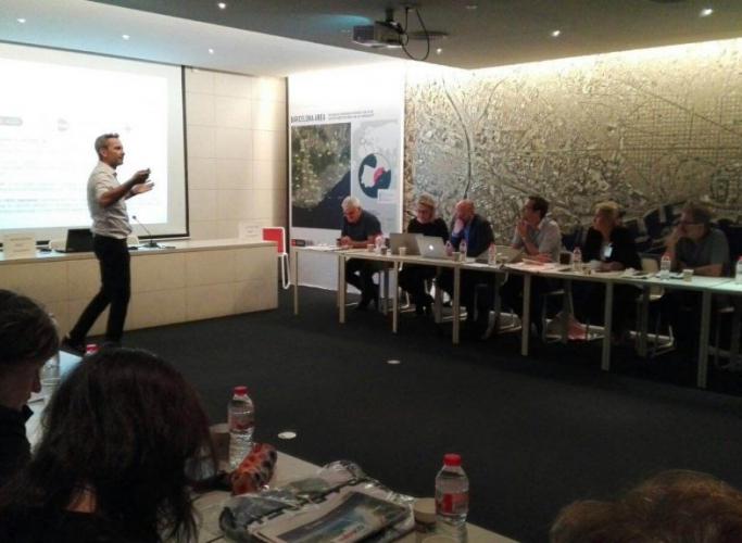 Presentació del Làbora al grup de treball sobre ocupació d'Eurocities