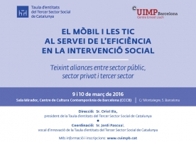 Curs 'El mòbil i les TIC al servei de l'eficiència en la intervenció social'
