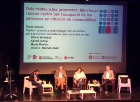 Món local i tercer sector aposten per reforçar la seva aliança per promoure l'ocupació de les persones en situació de vulnerabilitat