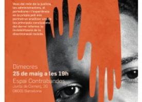 'El racisme invisible', presentació de l'informe i debat el 25 de maig
