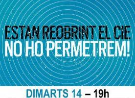 Manifestació contra la reobertura del CIE de Barcelona, 14 de juny a les 19h a plaça Urquinaona
