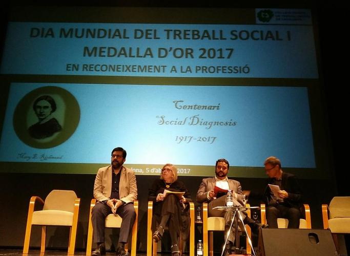 Maria Eulàlia Fontanals i Pepita Rodríguez, Medalles d'Or al Treball Social 2017